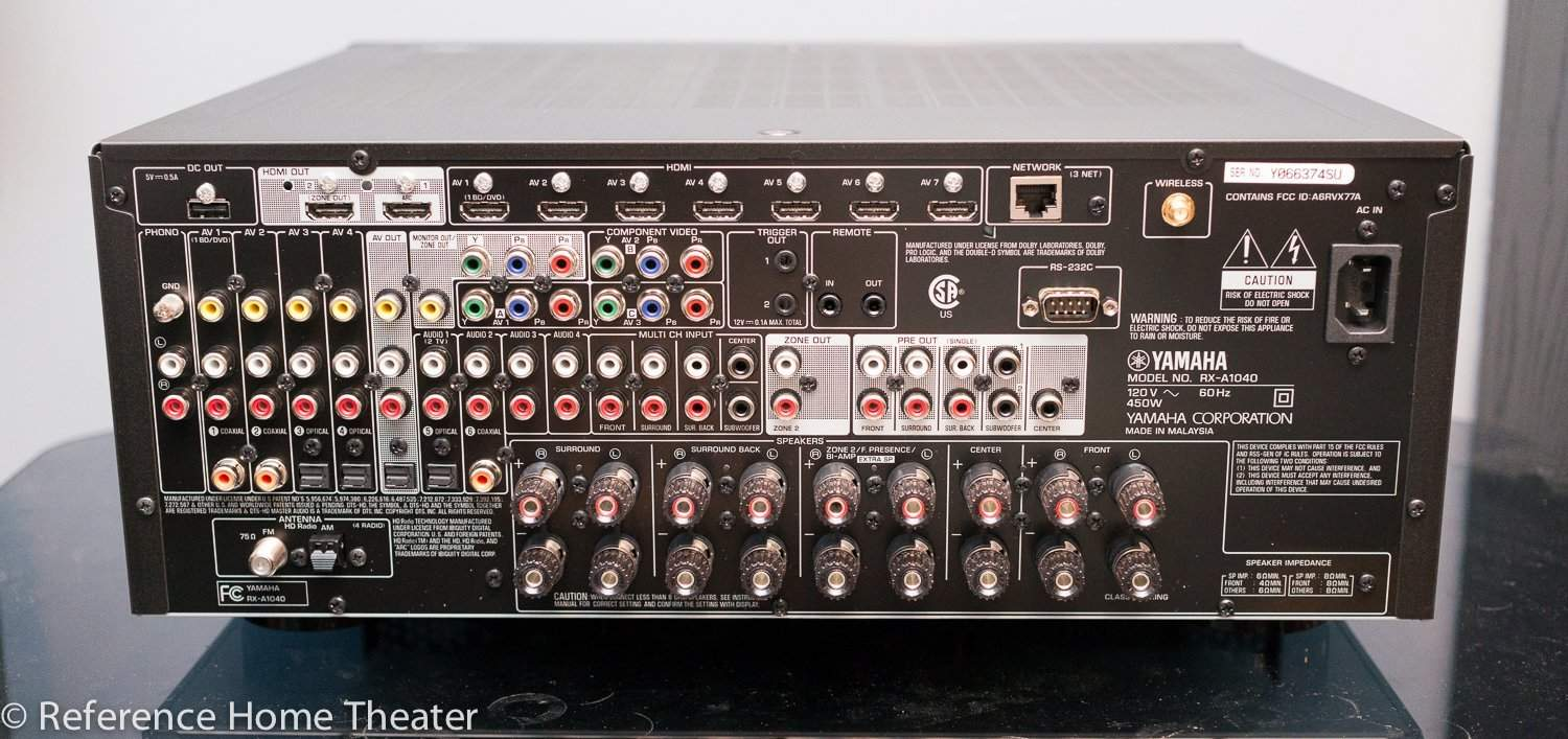 Yamaha RX-A1040 Receiver Review | Reference Home Theater