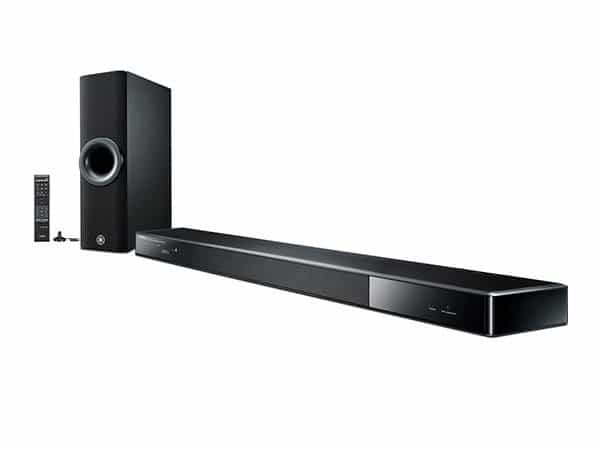 Yamaha ysp 2500 sound bar review reference home theater for Yamaha surround system review