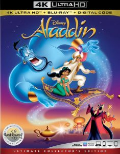 Aladdin 4K Blu-ray Box Art