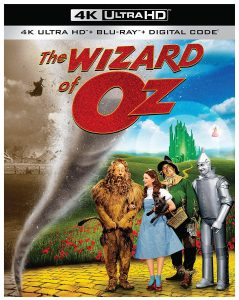 The Wizard of Oz 4k Blu-ray Cover
